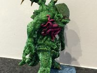 Cthulhu from Scibor miniatures painted