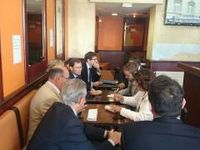 Conférence de presse pour les élections régionales de 2015 - Situation des transports franciliens