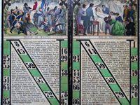 loto le napoléonien, cartons 12 à 24