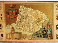 loto des arrondissements de Paris ( cartons 1 à 10 )