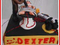 Gâteau DEXTER : recette du &quot&#x3B; Devil food cake&quot&#x3B;  &quot&#x3B;