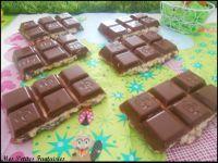Barres de chocolat aux céréales façon Kinder Country !