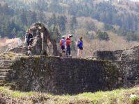 Petit arrêt aux ruines du Diersburg.