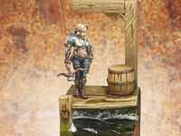 Tara the Silent de Reaper Miniatures