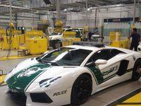 quelques images des voitures de police à Dubaï !!!
