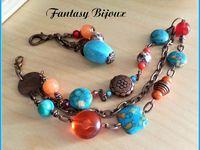 Collection Bohème , été , couleurs ...... etc ....