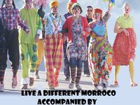 Travel with your own Clown in morocco!