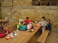 Visite au Château de Bridoire