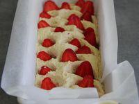 cake vanille fraises