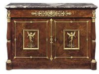 Empire chest of drawers,The Duchess of Feltre and her children, Waterlilies, Strolling near Argenteuil