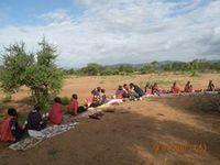 Nyama Choma (Viande Rôtie) et Irio pour cuisine pour la paix