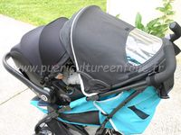 TEST SUR POUSSETTE CYBEX ONYX et KIDDY CLICK N MOVE 3 et KIDDY CITY N MOVE