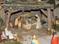 Cabannes, deux crèches provençales