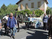 Aubagne, Cavalcade à Beaudinard