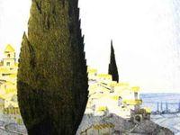Graveson, la Louange du Cyprès