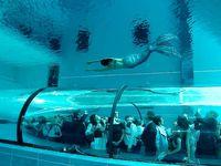 VIDEO - 42,50m, la piscine la plus profonde du monde, dans un palace italien