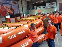 Les 32 centres de formation des sauveteurs SNSM perçoivent 98 IRB de chez Sillinger