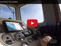 VIDEO - premier essai en mer pour le nouveau Rhéa 30 Evolution