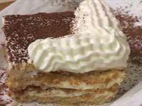 Menu, Samira tv, Algérie - Soupe de pois cassés + Viande veau aux haricots verts + Mille feuilles à la crème de beurre
