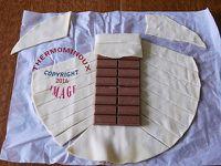 TABLETTE DE CHOCOLAT FEUILLETE (thermomix)