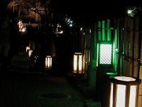 Mars : Illuminations nocturnes du quartier de Higashiyama à Kyôto, le Hanatôrô 花灯路