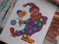 Le clown de Carnaval
