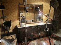 VENDU. Grand miroir mesurant 133 cm de longueur x 102 cm de hauteur.