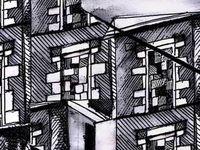 Quelques dessins de fenêtres murées...