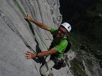 Tchao Godillot à la pointe Dzérat dans les Aravis, le 7 juin.
