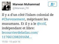 Marwan Muhammad (CCIF) veut fédérer la communauté musulmane en France... et en devenir le chef ?