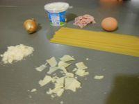 Spaghettis carbonara °