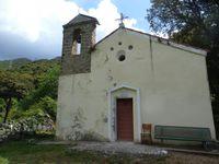 De gauche à droite : la chapelle du Saint-Esprit, les ruines du couvent et la vue sur la plage de Baracci qui est située juste avant l'entrée de Propriano