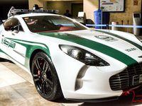 Les incroyables voitures de police de Dubai