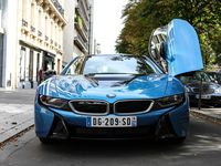 BMW i8 aperçue à Paris!