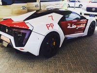 La Police d'Abu Dhabi achète un bolide à 3 millions d'euros
