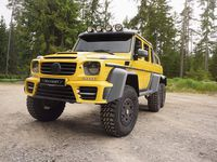 Mercedes G63 AMG 6x6 Mansory - colossal