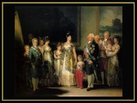 El 2 de mayo - El 3 de mayo o los fusilamientos de la Moncloa - La corte de Carlos IV - La maja vestida - La maja desnuda