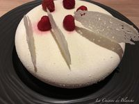 Entremets Coco Framboise