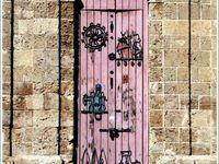 Les Portes sculptées