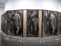 """""""Peinture dithyrambique"""" 1964-1976 - Markus Lûpertz, comme il le formule lui même """"impose aux objets existants une contruction"""" : simplification de la forme, exagération de la plasticité ou encore grossissement du détail."""