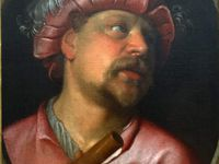 Portrait d'Henri IV (91x74cm) - Le flûtiste (46x36cm)