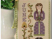 Septiembre de Little House needleworks