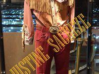 Quelques uns des costumes exposés !