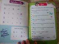 Violetta, mon carnet de vacances de chez Hachette education CM1 CM2