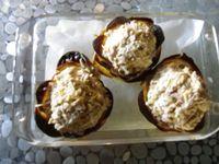 fleur de pommes de terre au thon