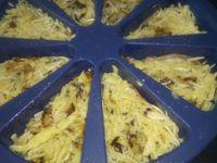 Rosticake poireau pommes de terre bacon à l'Emmental 3sp