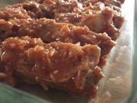 Ribs en marinade au four