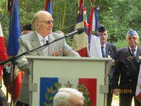 Trois Déportés-Résistants de ce convoi étaient présents à la cérémonie Pierre BUR, Jacques VIGNY et Raphaël MALLARD