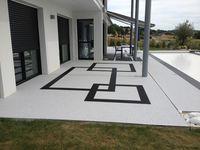 Design jardins: Resine de marbre - Moquette de pierre