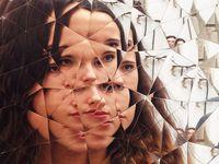 Random Triangle Mirror - Anish Kapoor - Galleria Continua - FIAC 2016